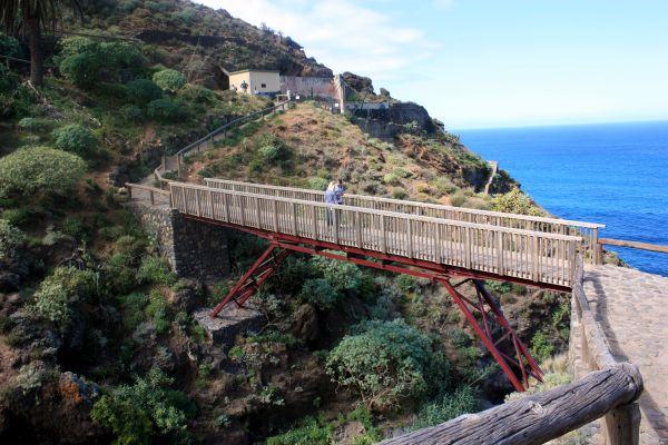 Gordejuela bridge of Los Realejos Rambla.