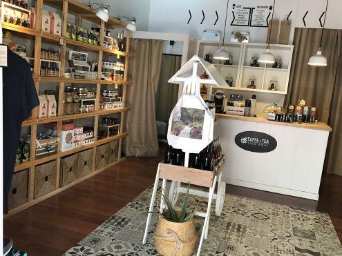 Gourmet food gift section La Sabena shop of Buenavista del Norte