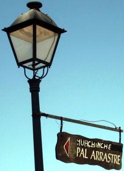 Guachinche Pal Arrastre a renown place to eat out in San Antonio La Matanza de Acentejo doesn't exist any more.