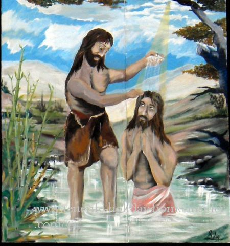 Guanche Baptism scene