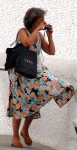 Me a Santa Cruz guide at the Auditorio de Tenerife, a few years ago.