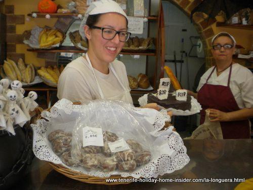 Halloween Sweets by Longuera Panaderia Horno del Pan