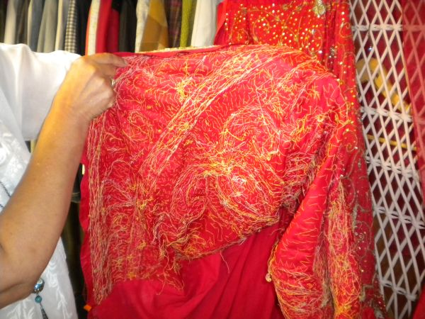 Hand made Indian Wedding dress skirt