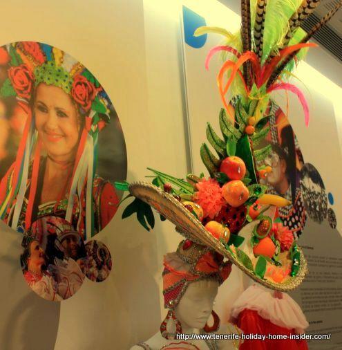 Harvest hat with fruit captured at Casa del Carnaval in 2017.