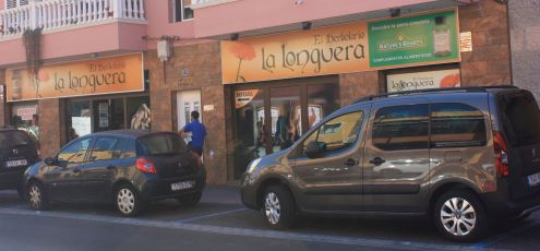 Health shop el Herboloario augmented in 2017 with additional shop front premises.