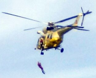 Helicopter rescue Playa Jardin