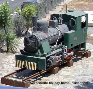 Henschel Lokomotive in Tenerife capital