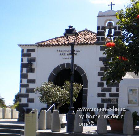 Chapel San Amaro historical Puerto Cruz la Paz.