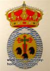 History Emblem of 1797 battle Horatio Nelson Santa Cruz Tenerife.