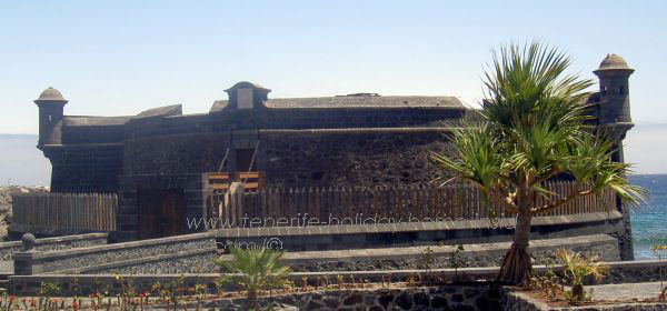 Black fort Santa Cruz de Tenerife.