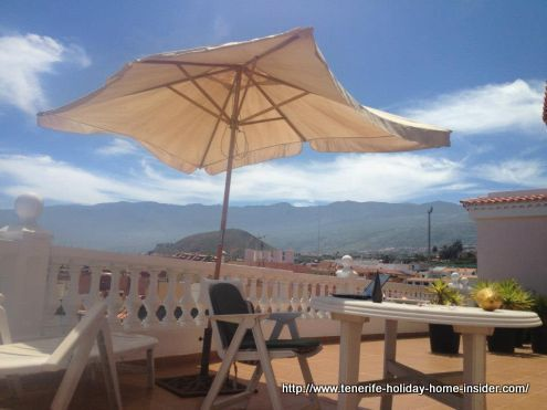 Holiday home Tenerife North penthouse with views.