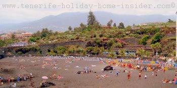 Holiday beach Playa Jardin.