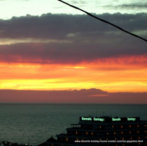 Family hotel Hotel Barcelo Santiago with Sunset by the giant cliffs