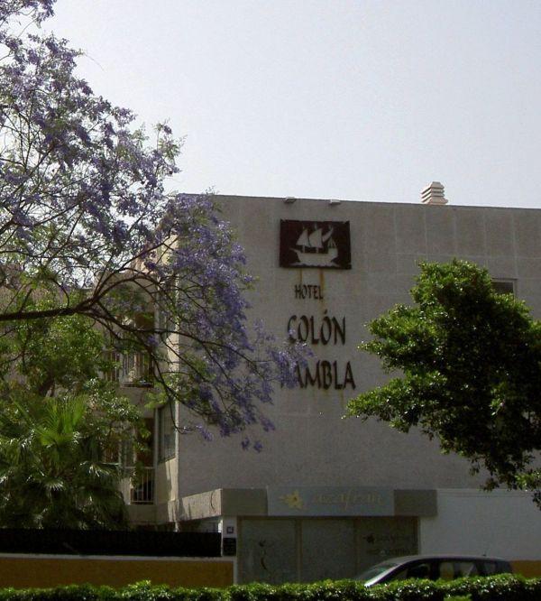 Hotel Colon Rambla of Tenerife.