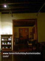 Hotel dining room La Quinta Roja Garachico Spain