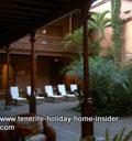 Hotel Patio of Quinta Roja Garachio