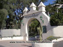 Hotel Playa Sur of El Medano Tenerife