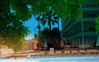 olympic hotel pool of Los Realejos