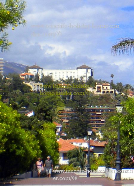 Hotel Taoro first Spa in Tenerife as well as Spain which started health tourism.