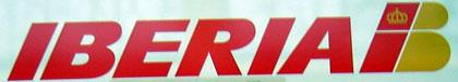 iberia -logo of TFS airport