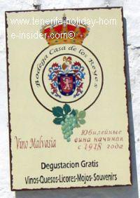 Icod de los Vinso represented by Malvasia