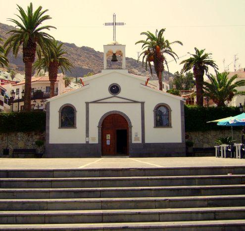 Iglesia del Espiritu Santo for street concert event Puerto de Santiago.