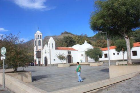 Iglesia San Fernando Rey of Santiago del Teide.