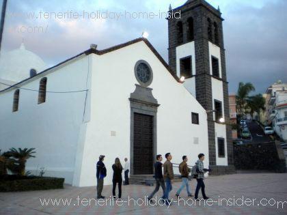 Iglesia San Pedro Apostol Sauzal
