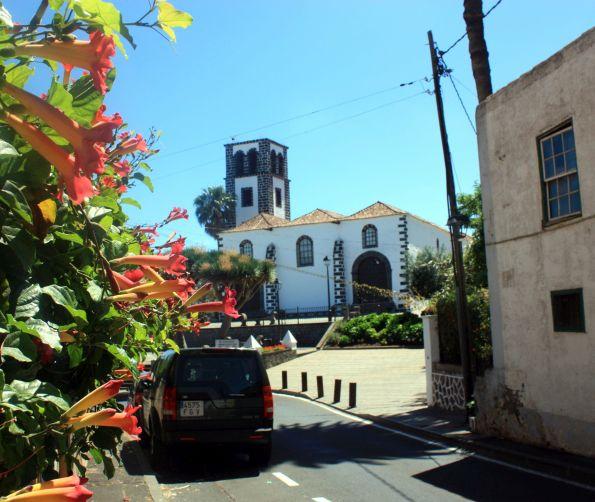 Iglesia Santa Catalina Martir that replaced a previous chapel built by Sebastián Machado