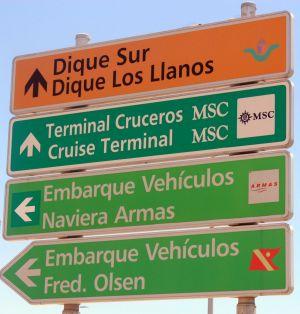 Important Cruiser passenger information Santa Cruz de Tenerife.
