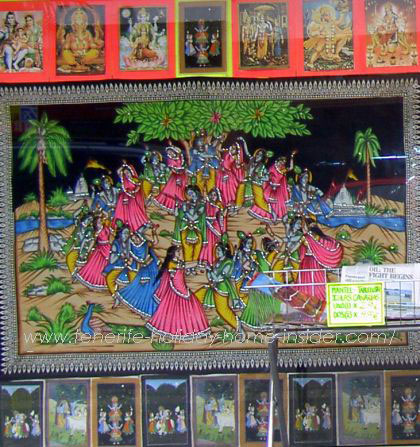Indian charms by prints sold by Saroj in Tenerife