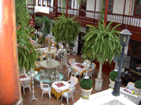 Inside-patio La Casona Tenerife