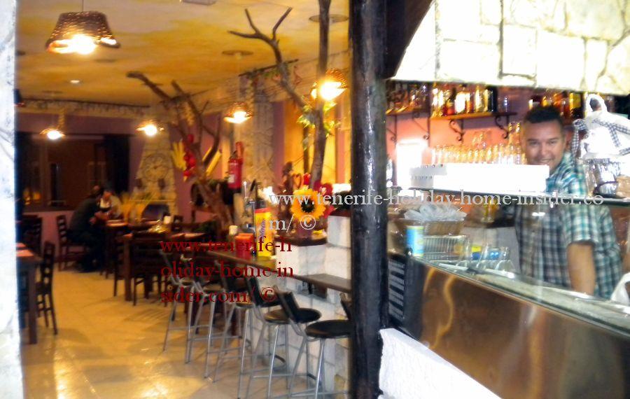Italian restaurant bar in Toscal Longuera Realejos