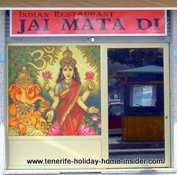 Jai Mata Di restaurant of India