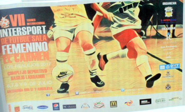 July international women indoor soccer tournament at Los Realeljos of Tenerife
