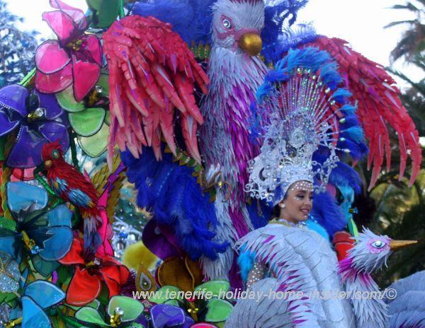 Katsunani de Armas Alvarez Reina Carnival infantil 2017 of el Puerto.