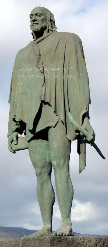 King Bencomo or Mencey Bencomo of the Guanches
