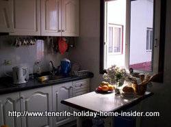 Apartment kitchen Tenerife