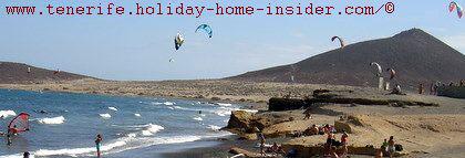 Kitesurfing Tenerife Spain El Medano by Montana Roja
