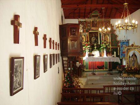 La Ermita Santiago of Tenerife Santiago del Teide