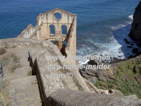 La Gordejuela ruin stairway