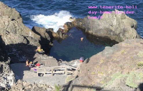 La Laja the most stunning of natural Tenerife pools within the most awesome rock setting is in San Juan de la Rambla in the North of the island