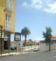 La Longuera turn offs at cross-roads Los Realejos Tenerife