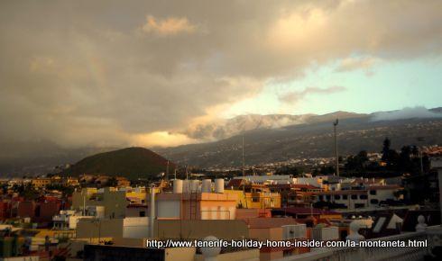 La Montaneta de los Frailes, as seen from Toscal La Longuera of Los Realejlos