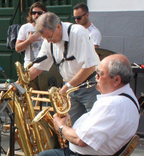 La Mueca street concerts Puerto de la Cruz.