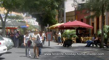 La Noria street scene Santa Cruz Tenerife