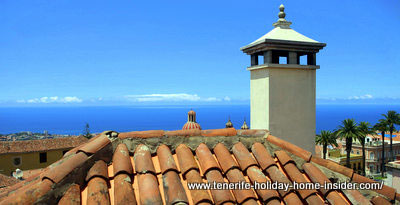 La Orotava with its Spanish roof tiles