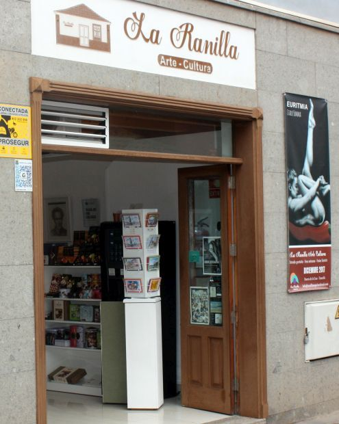 La Ranilla Arte Cultura cultural center for exhibitions in Puerto de la Cruz