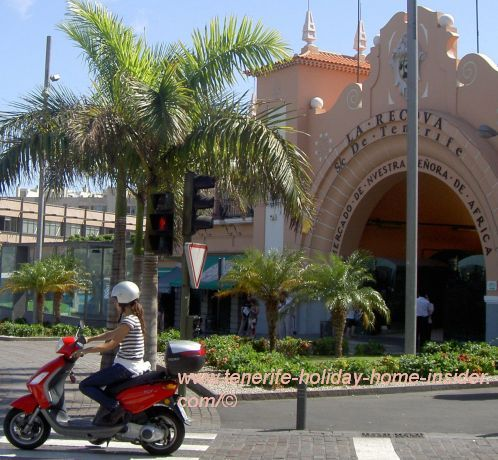 La Recova Santa Cruz Mercado de Nuestra Senora de Africa the African market.