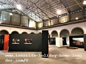 La Recova Sala de Arte with the historical art exhibition First 25 Years of Santa Cruz de Tenerife declared outstanding by the Tenerife holiday home insider